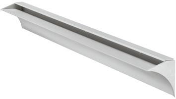 Hylleholder alu 800 mm for 8 mm glass