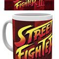 Street Fighter, Logo, Mugg