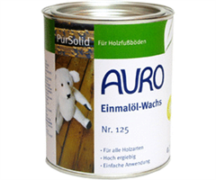 Auro olie & was 2 in 1 -pure solid