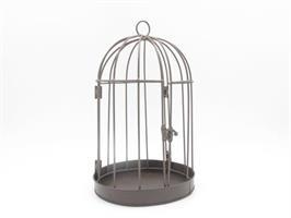 Fågelbur brun 20 cm