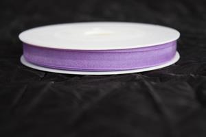 Band 10 mm 50 m/r organza lila