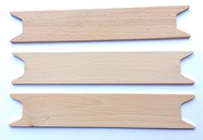 Garnsticka /Vävsticka 17 i ljust trä