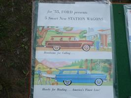 Ford 1955 Station Wagons