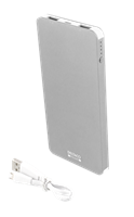 Power bank 5000mAh / 2.1A Silver