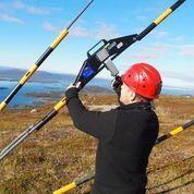 Staglinemätare /Linkraftmätare / The PIAB Rope Tenson Meter RTM-D