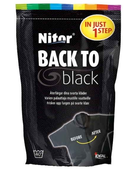 BACK TO BLACK  NITOR 600g