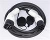 8m 16A 11 kW 3 fase mode 3  T2 til T2 Ladekabel