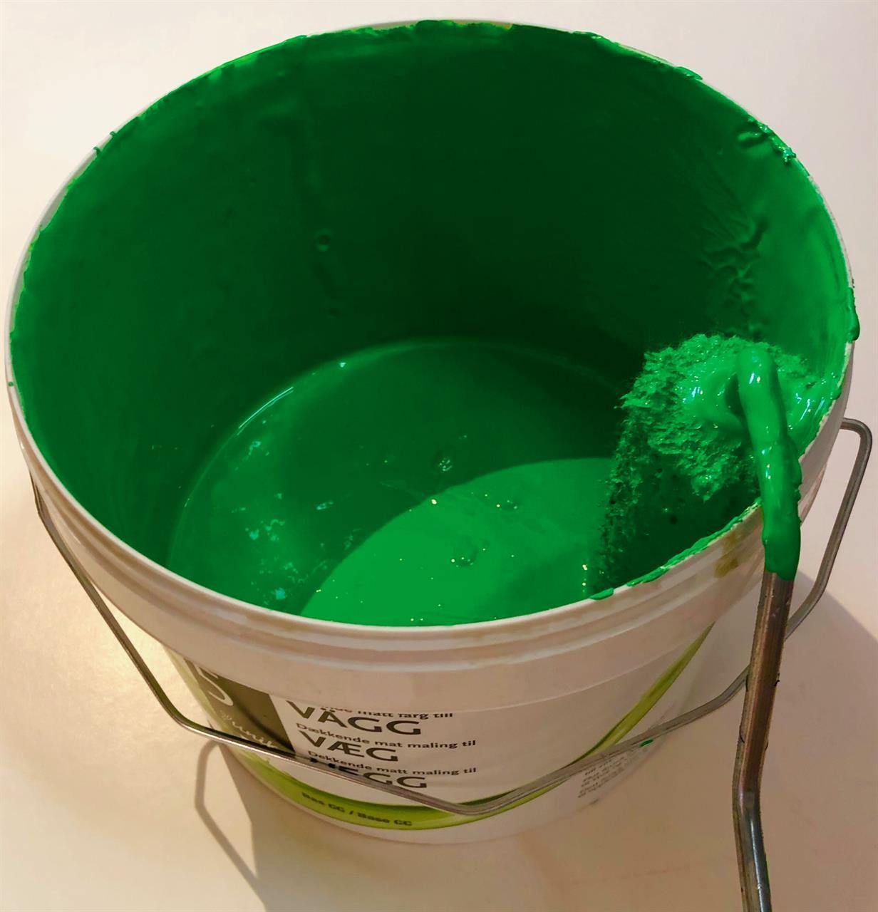 5 Väggfärg Green ChromaKey 2,9 L