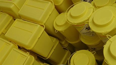 Bio-based containers for healthcare waste ready for pilot production