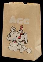 Äggpåse med tryck - 25-pack