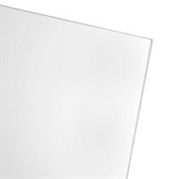 Akrylglass 5,0x1000x495 mm - Frostet