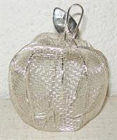 ÄPPLE metall silver