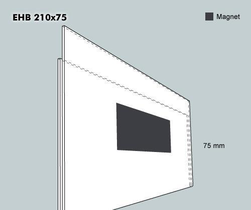 Etiketthållare EHB 210-75F