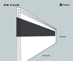 Etiketthållare EXB 210-30F