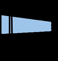 Etiketth. EL 1230-26F rak tejp