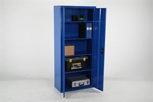 Förvaringsskåp Björn 1800x800x400 blå