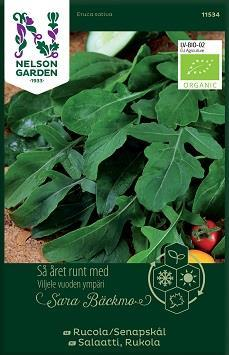 Rucola/Senapskål Organic