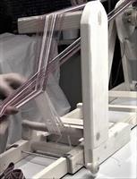 Bandvävstol - Vävhund,för halvsolv, VÄNSTERHÄNT