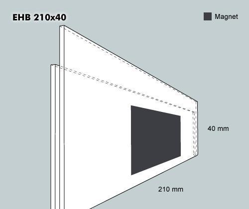 Etiketthållare EHB 210-40F