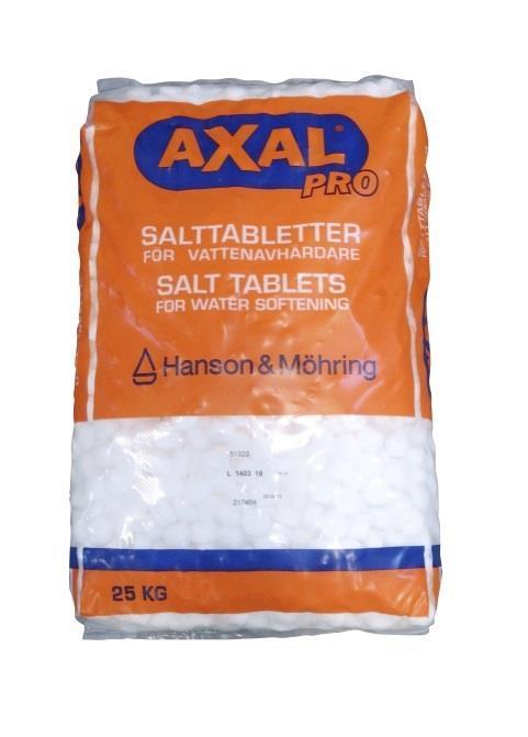 Salttabletter saltsekker Axal pro Hadeland Glass & Vaktmesterservice AS Brandbu