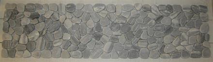 MARMORLÖPARE 20x75cm grå