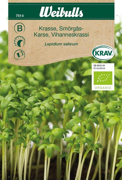 Smörgåskrasse KRAV Organic