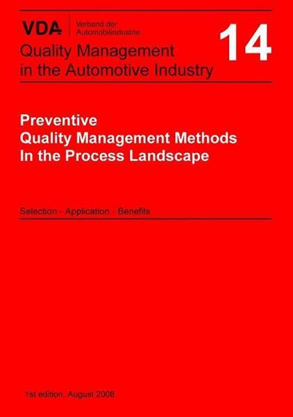 VDA Vol 14 - Förebyggande Processtyrning... (ENG)