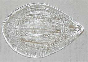 GLASMEDALJONG  6cm