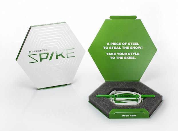 Peeksteep Spike packing tool / green