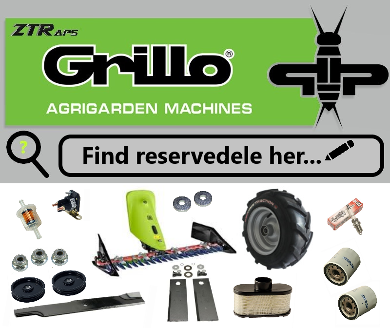 Link til Grillo Parts - søg via model- og serienummer