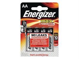 Batteri AA.Alkaline/4st.Energizer MAX