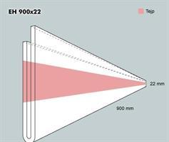 Etiketth. EH 900-22F rak tejp