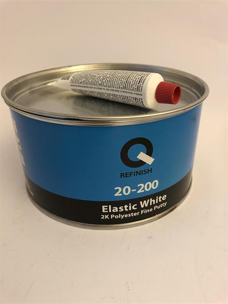 Q-Refinish Elastic White Spackel 1,8 kg, 20-200-1800