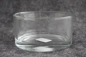 Glasskål cylinder D15cm H8cm 12/fp