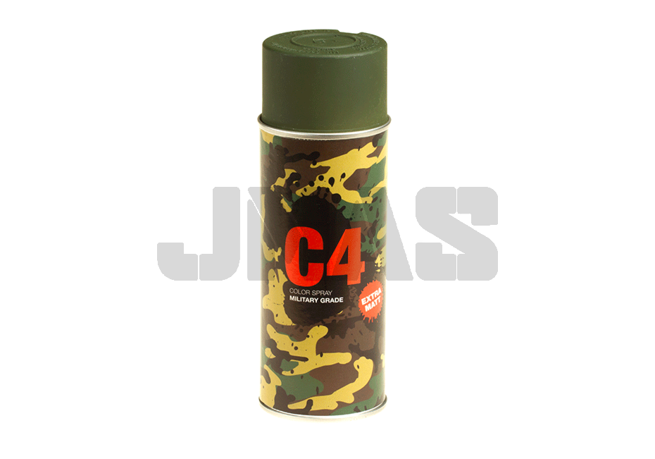 C4 Mil Grade Color Spray RAL6031