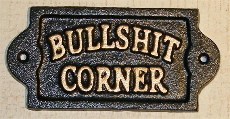 """SKYLT """"BULLSHIT CORNER"""""""