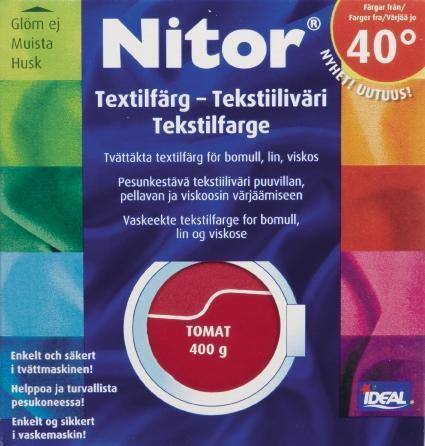TEXTILFÄRG TOMAT 03 NITOR