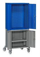Verktygsvagn HD Grå/Blå