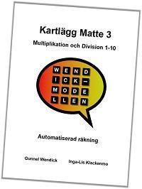 Kartlägg Matte 3, Multi/Divi 1-10