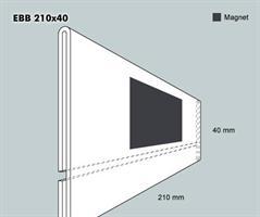 Etiketthållare EBB 210-40F