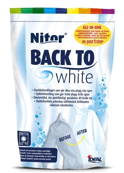 BACK TO WHITE NITOR för 4 kg