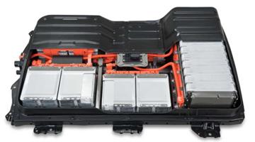 Nissan NV200, 24 kWt  2014 batteri