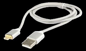 Kabel USB Magnet A-microB 1m