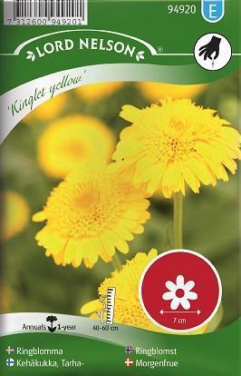 Ringblomma 'Kinglet Yellow'