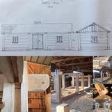 Tillverkning visningsex. Rackebystugan med Knapegårdens Bygg & Hantverk. Klick på bild för info.