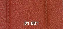 Konstläder svetsad pipa röd (07x521)