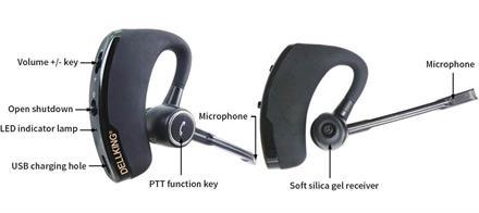 Blå Tands Headset PTT.BTH-DK36100