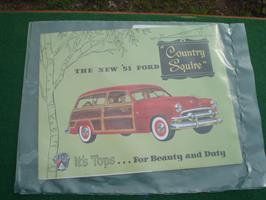 Ford 1951 Country Squire