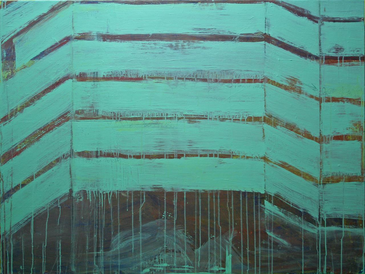 WE HAVE TO MEET (BUILDING I) 100x133cm 2013