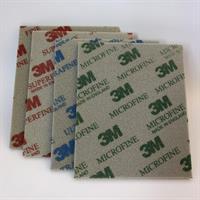 3M Slipsvamp Microfine 140 x 115 mm P 1500 - P 2200 02600